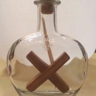 Бутылка с крестом