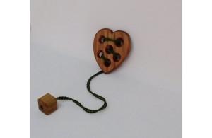 Сердечко с кубиком