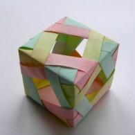 Головоломка кубик (оригами)