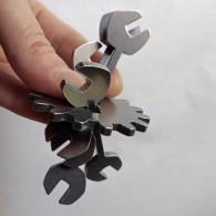 Шестеренка и ключи