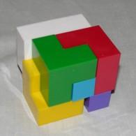 """Уникальная головоломка конструктор  """"Кубики для всех"""""""